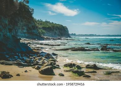 Breathtaking ocean coastline near Inverloch in Victoria, Australia - Shutterstock ID 1958729416
