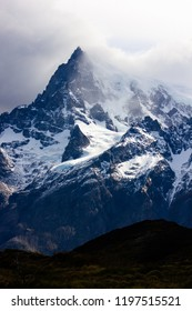 Breathtaking view of the Andes Mountain Range, Torres Del Paine, Patagonia, Chile