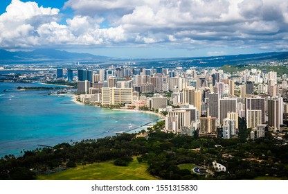 Breathtaking view from DiamondHead State Monument