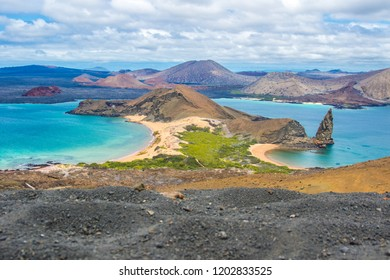 Breathtaking view of Galapagos islands