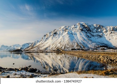 Breathtaking view of the lofoen,Norway