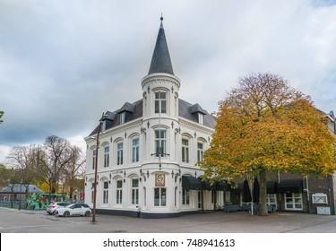 Breda, November 5th 2017: Exterior of the restaurant sister ('t zusje)