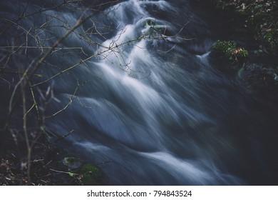 Breezy mountain stream
