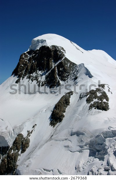 Breithorn in the Swiss alps, 4164m