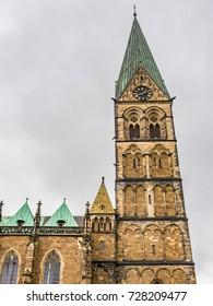 Bremen Cathedral in Bremen, Germany