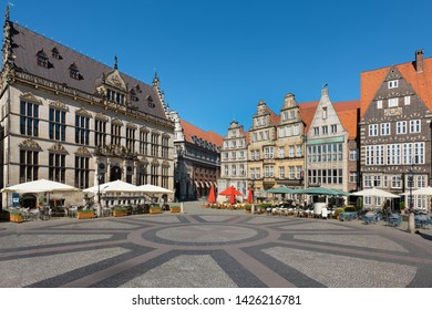 The Bremen Market Square (German: Bremer Marktplatz), Germany, is situated in the centre of the city.