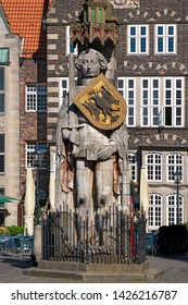 The Bremen Roland is a statue of Roland, erected in 1404 on the Bremen Market Square, Germany.
