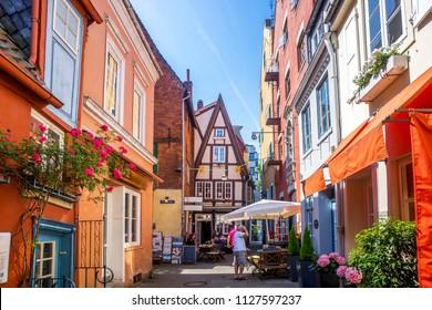 Bremen, Schnoor, Germany