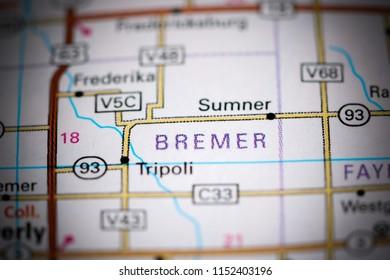 Sumner Iowa Map.Sumner Iowa Usa On Map Stock Photo Edit Now 1152403205 Shutterstock