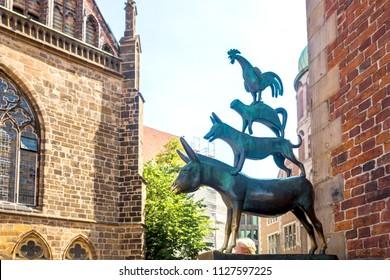Bremer Town Musicians, Bremen, Germany