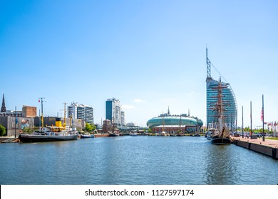 Bremerhaven, Hafenwelten, Germany