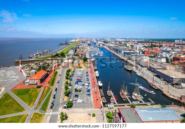 Bremerhaven, Hafenwelten, Deutschland