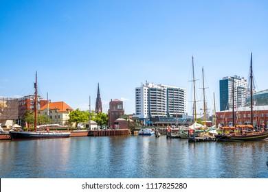 Bremerhaven, Marina, Deutschland