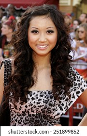 """Brenda Song attends the World Premiere of """"Pirates of the Caribbean: At World's End"""" held at Disneyland in Anaheim, California on May 19, 2007."""