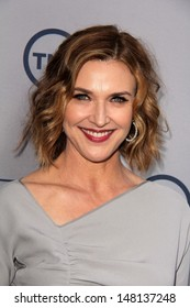 Brenda Strong at the TNT 25th Anniversary Party, Beverly Hilton Hotel, Beverly Hills, CA 07-24-13