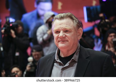 Brendan Gleeson  attends the 'Alone in Berlin' (Jeder stirbt fuer sich) premiere during the 66th Berlinale Film Festival Berlin at Berlinale Palace on February 15, 2016 in Berlin, Germany.