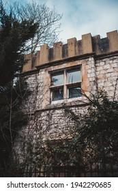 Brentford, West London | UK -  2021.03.21: Tower in Gunnersbury Park