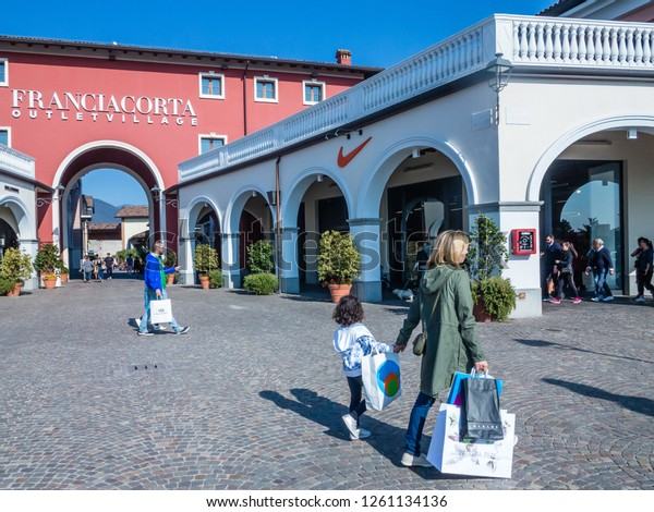 Brescia Italy 30 September 2018tfranciacorta Outlet Stock Photo ...