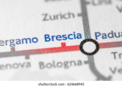 Brescia Map Images Stock Photos Vectors Shutterstock