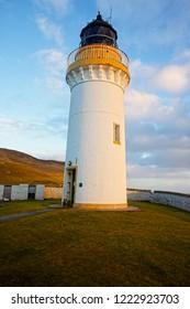 Bressay Lighthouse, Bressay, Shetland, Scotland, UK.