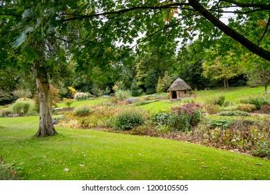 Bressingham Gardens - west of Diss in Norfolk, England - United Kingdom - Photo taken  October 7 2017