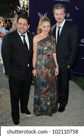 Brett Ratner with Eric Dane and Rebecca Gayheart at the 9th Annual Chrysalis Butterfly Ball, Private Location, Beverly Hills, CA. 06-05-10