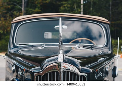 Bretton Woods, New Hampshire - September 09, 2016: Classic Cars, 1936 Cadillac Series 40