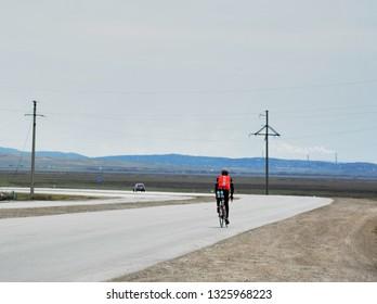 brevet 25 april 2015 Astana-Karaganda 200km Randonneurs Kazakhstan. Audax club Parisien