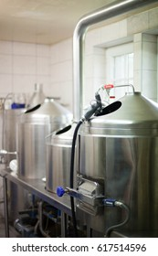 Brewery. Cook part.