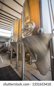 Brewery Steel tanks