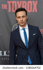 """Brian Nagel attends  Skyline Entertainment's  """"The ToyBox"""" Los Angeles  Premiere at Laemmle's NoHo 7, North Hollywood, California on September 14th, 2018"""