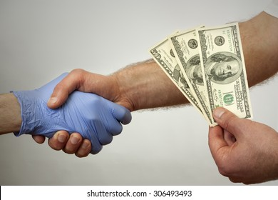 Bribes in medicine