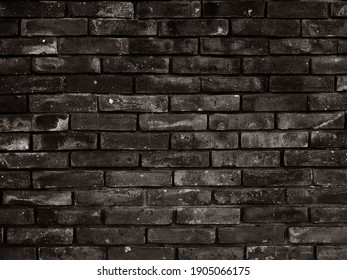 Brick. Brown brick. Background for design and presentations.