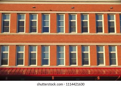 brick building windows elementary school architecture