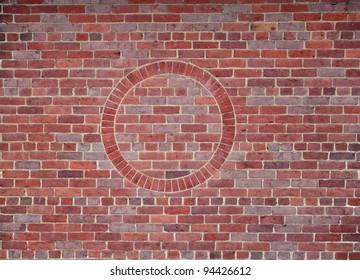 brick circle pattern
