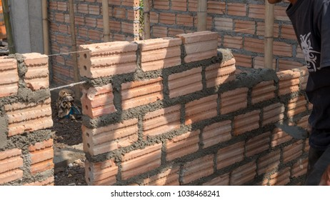 Brick in construction