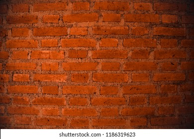 Brick layer building texture of wall