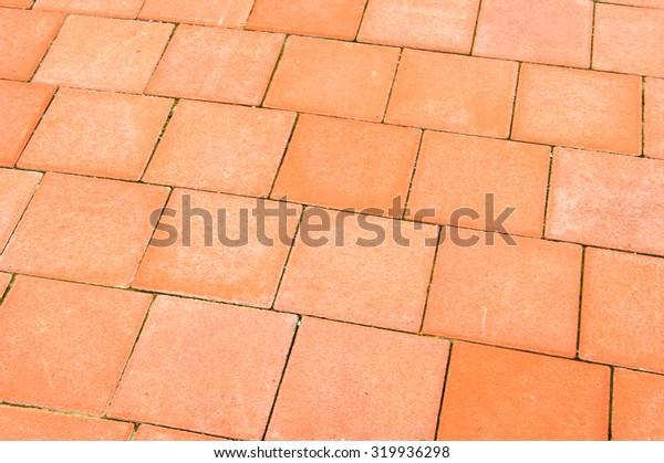 Brick sidewalks background
