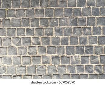 Brick stone floor
