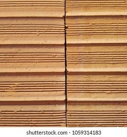Brick Texture Building