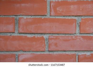 brick texture on home