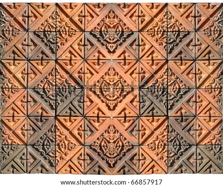 Brick Tile Square Decorative Wall Patterns Stock Photo (Edit Now ...