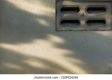 Brick vents wall white color,brick blowhole wall white color