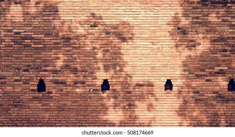 Brick Wall Ancient Aged Exterior Vintage Concept