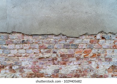 Brick wall with brick as background