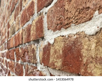 brick wall as a background