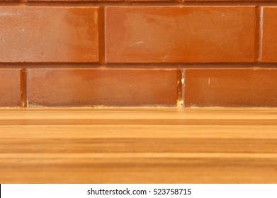 brick wall, The background of the brick wall, horizontal.
