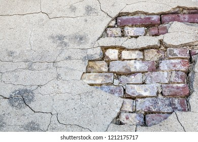 Brick wall, background, texture