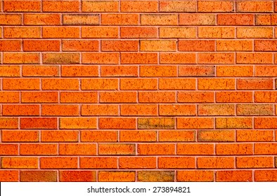 Brick wall background texture.