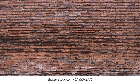 brick wall background texture old red pattern dark wallpaper grunge blank for design